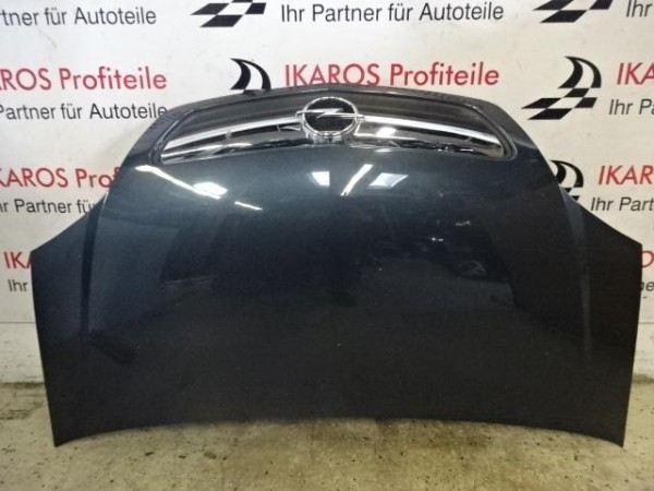 Opel Corsa D Motorhaube Haube vorne schwarz
