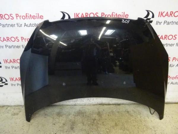 Peugeot 307 Motorhaube Haube vorne schwarz