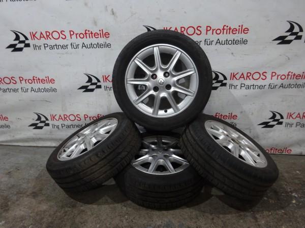 Renault Megane Reifen Räder Alufelgen Felgen Sommer 185 55R15