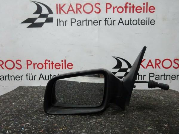 Opel Astra G Außenspiegel Spiegel Fahrerseite links man. silber