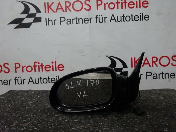 Mercedes SLK R170 Außenspiegel Spiegel Fahrerseite links schwarz