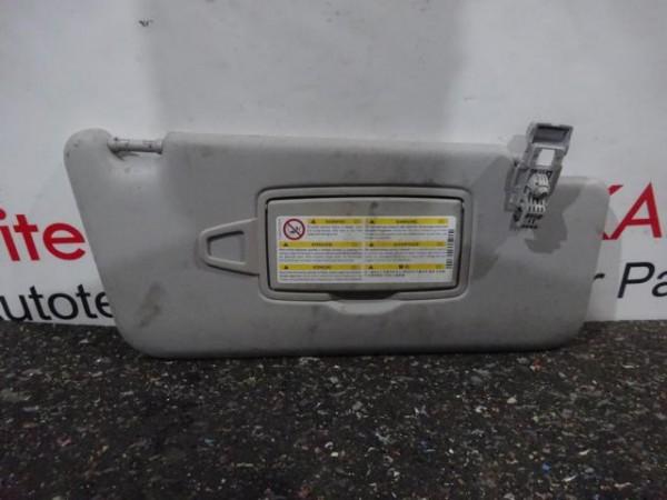 Mercedes ML W166 Sonnenblende Blende rechts Beifahrer A1668100410