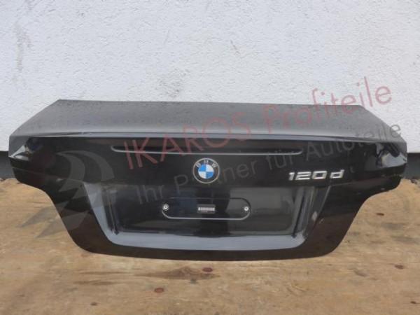 BMW 1er E88 Cabrio Heckklappe Kofferaumdeckel Heckdeckel schwarz