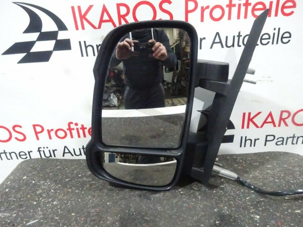 Jumper Ducato Boxer Außenspiegel Spiegel beschädigt links elektr.