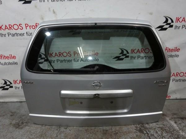 Opel Astra G Kombi Heckklappe Heckdeckel Kofferraumdeckel silber