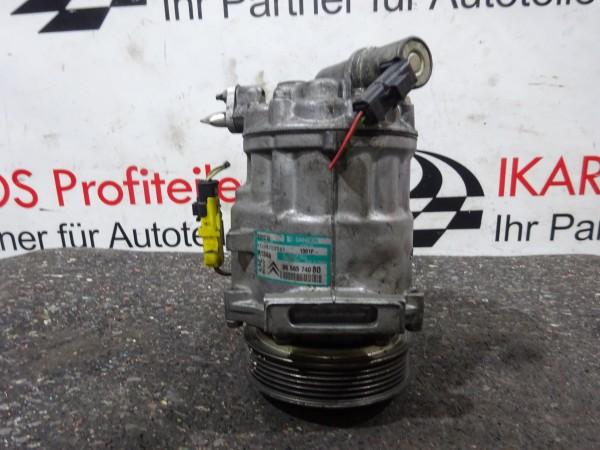 Peugeot Citröen 2,0 HDI Klimakompressor Kompressor 9656574080