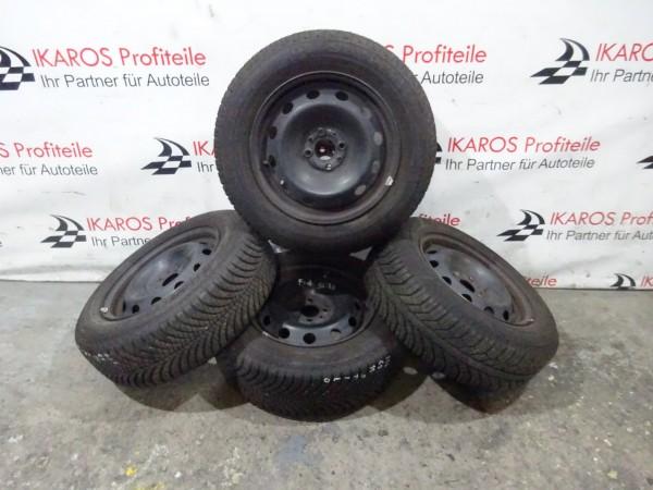 Fiat Stilo Reifen Räder Stahlfelgen Stahl Allwetter 195 65R15