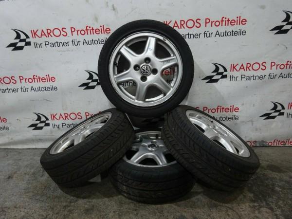 VW Polo Reifen Räder Felgen Alu Alufelgen Sommer 195 45R15