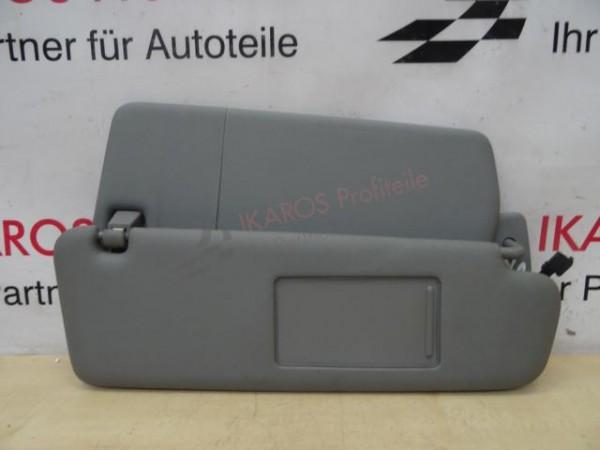 VW Touareg 7L Sonnenblende 7L6857552AQ Rechts Grau