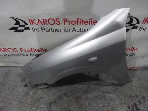Opel Astra G Kotflügel Fahrerseite vorne links silber Z147