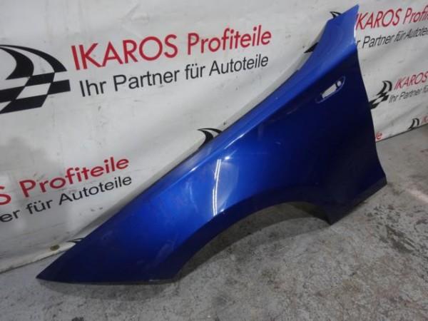 BMW 1er E81 E87 Kotflügel Fahrerseite rechts blau beschädigt