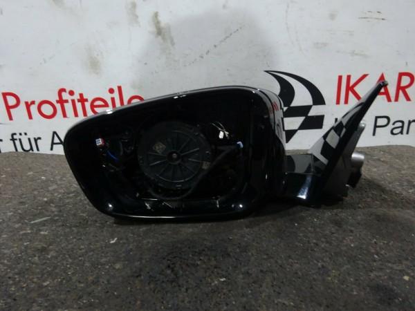 BMW 5er G30 Außenspiegel Spiegel Fahrerseite links schwarz